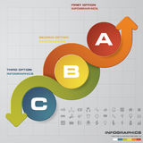 Abstract 3 steps infographis elements.Vector illustration. EPS10 Stock Illustration