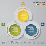 Abstract 3 steps infographis elements.Vector illustration. EPS10 Royalty Free Illustration