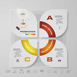 Abstract 3 steps infographis elements.Vector illustration. EPS10 Vector Illustration