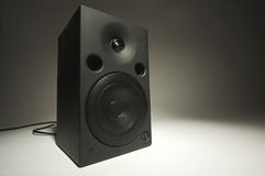 Abstract of Stereo Speaker royalty free stock image