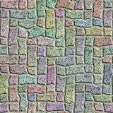 Abstract stone tiles seamless texture. Stock Photos