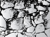 Abstract stone wall Royalty Free Stock Images