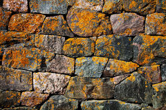 Abstract stone wall background Royalty Free Stock Photos