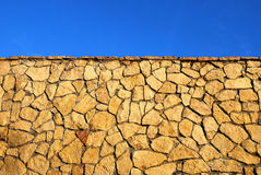 Stone wall  background. Royalty Free Stock Photo