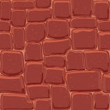 Abstract stone wall seamless background. For texture design royalty free illustration