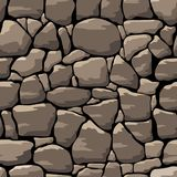 Abstract  stone wall. Seamless pattern Royalty Free Stock Photos