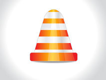 Abstract stop cone Stock Photography