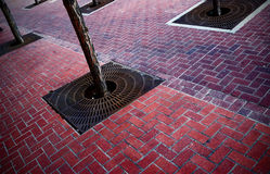 Abstract straatbeeld Royalty-vrije Stock Afbeeldingen
