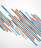 Abstract straight lines background Royalty Free Stock Image