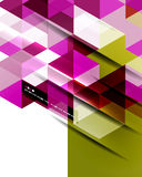 Abstract straight lines background Stock Photos