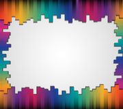 Abstract straight lines with blank paper background for your text. Abstract colourful paper graphics background with space for design vector illustration
