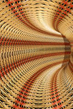 Abstract straw tunel Royalty Free Stock Images