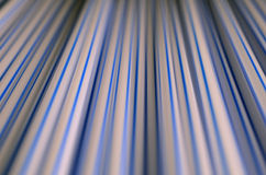 Abstract straws. Close (abstract)view of straws wiht intentional shallow depth of field Stock Image