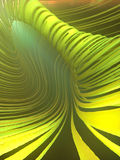 Abstract streaks effect background. 3d rendering. Abstract art green streaks effect background. 3d rendering Royalty Free Stock Photo
