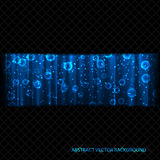 Abstract stream of energy. Abstract dark background for your business royalty free illustration