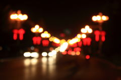 Abstract street lights Royalty Free Stock Images