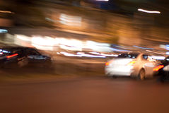 Abstract street motion Royalty Free Stock Photos