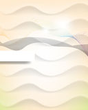 Abstract strings wave elements template background Stock Photo