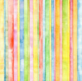 Abstract Strip Watercolor Background Stock Photo