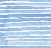Abstract strip watercolor painted background. Stock Photos