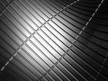 Abstract stripe aluminum pattern Royalty Free Stock Images