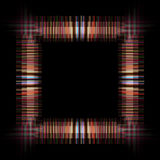 Abstract stripe frame object Stock Photo