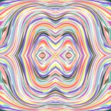 Abstract stripe made tunnel Stock Image