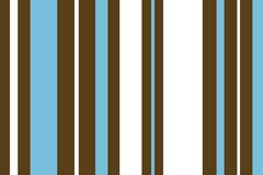 Abstract striped background. Abstract background of vertical blue and brown stripes on white Royalty Free Stock Photo