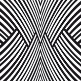 Abstract striped background. Black and white Stock Photos