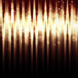 Abstract striped background with  bokeh lights Stock Image