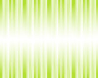 Abstract striped background in green Stock Images