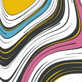 Abstract striped background. Vector illustration. Abstract striped background. Multi colors. Grunge vector illustration stock illustration