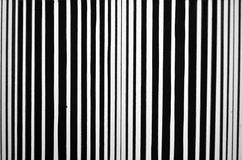 Abstract striped black and white painted background Stock Image