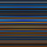 Abstract striped blue, brown and orange background Royalty Free Stock Photography