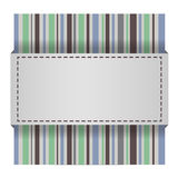 Abstract striped card Stock Image