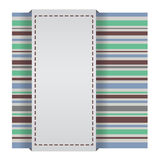 Abstract striped card Royalty Free Stock Photography