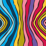Abstract striped colorful background. Vector Royalty Free Stock Photography