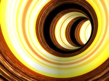Abstract striped 3d the image Stock Photo