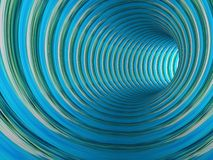 Abstract striped 3d the image Royalty Free Stock Photos
