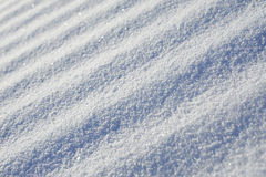 Abstract striped diagonal snow surface Stock Image