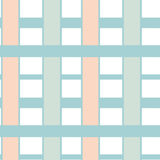Abstract striped geometric seamless pink white blue pattern background illustration Stock Image