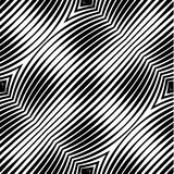 Abstract Striped Geometric Vector Seamless Pattern Stock Images