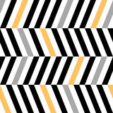 Abstract striped geometric zig zag stripe vector background Stock Image