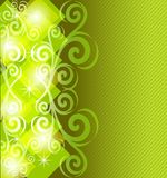 abstract striped  green background. Stock Photos