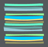 Abstract striped pattern. Stock Images