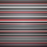 Abstract striped red and grey background Stock Photos