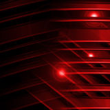 Abstract striped red line background Stock Photography