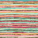 Abstract striped seamless pattern. Abstract colorful striped seamless pattern Stock Images