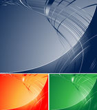 Abstract striped vector Stock Photography