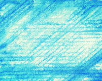 Abstract striped watercolor background. Abstract blue striped watercolor background Stock Photography